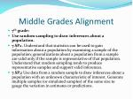 middle grades alignment