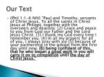 our text1