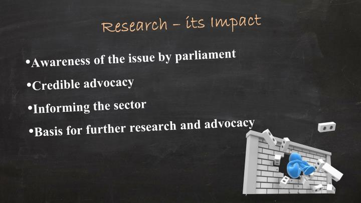 Research – its Impact