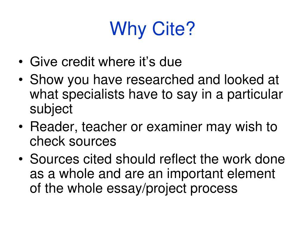 Cite It Right! - ELISER - Singapore Polytechnic