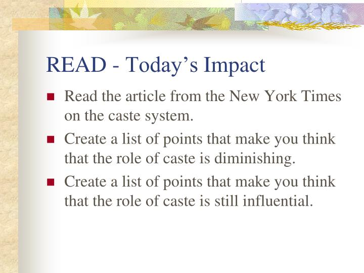READ - Today's