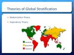 theories of global stratification