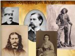 cowboys cowgirls vigilantes