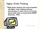 higher order thinking2