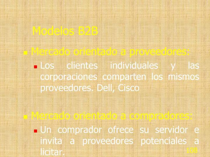 Modelos B2B