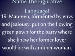 name the figurative language18