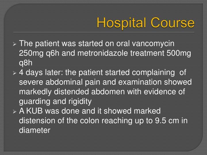 Hospital Course