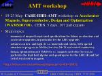 amt workshop