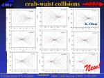crab waist collisions