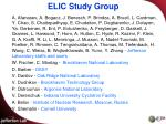 elic study group