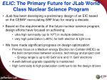 elic the primary future for jlab world class nuclear science program