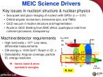 meic science drivers