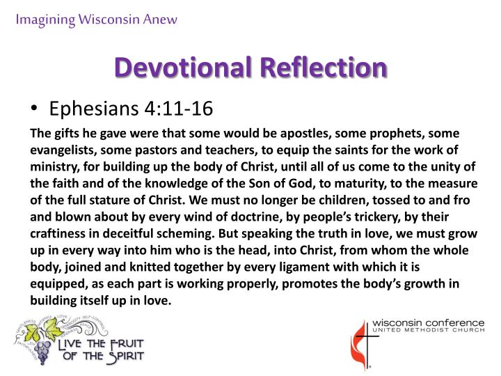 Devotional reflection