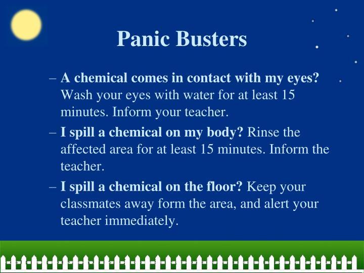 Panic Busters