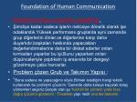 foundation of human communication12