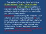foundation of human communication17