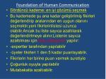 foundation of human communication18