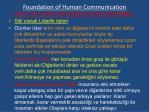 foundation of human communication21