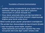 foundation of human communication3