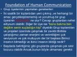 foundation of human communication5