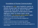 foundation of human communication7