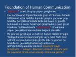foundation of human communication9