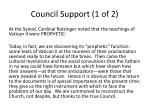 council support 1 of 2