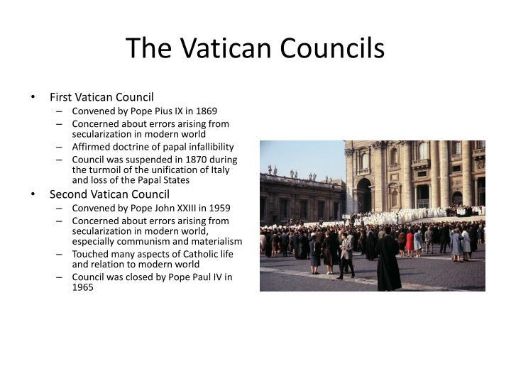 The Vatican Councils