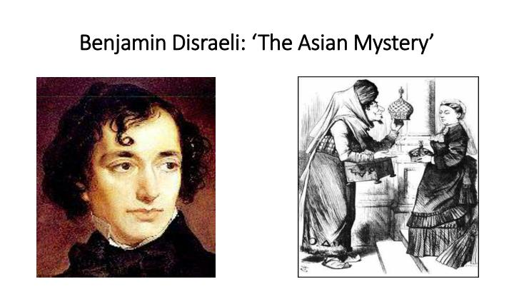 Benjamin Disraeli: 'The