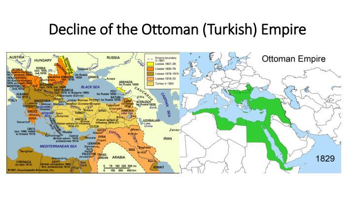 Decline of the Ottoman (Turkish) Empire