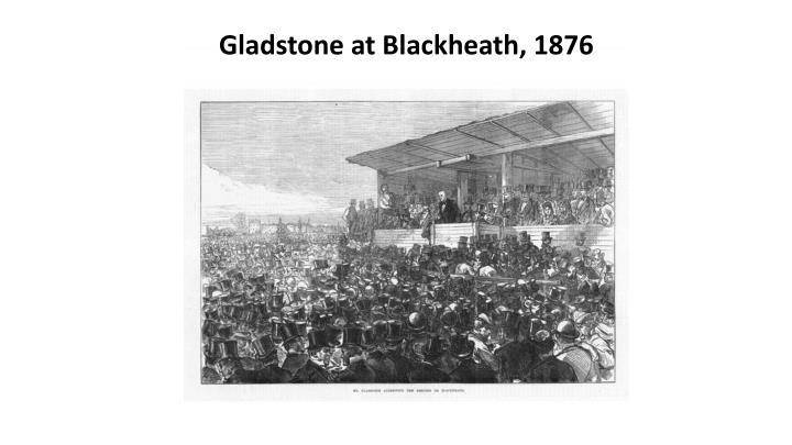 Gladstone at Blackheath, 1876