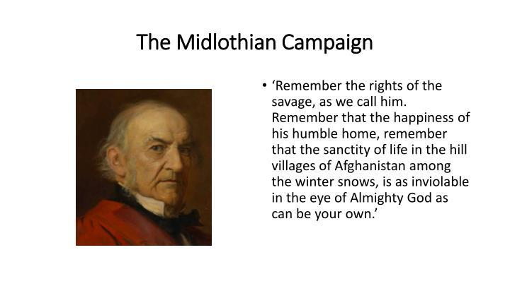 The Midlothian Campaign