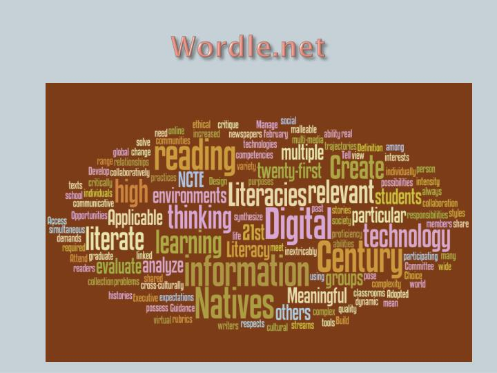 Wordle net