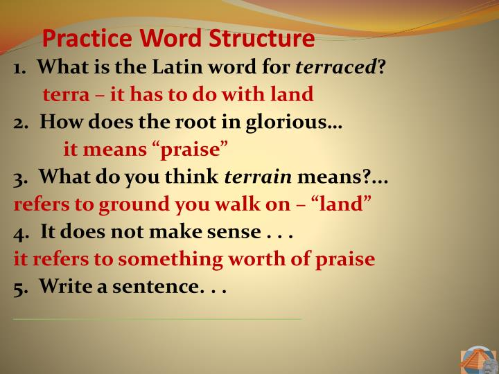 1.  What is the Latin word for