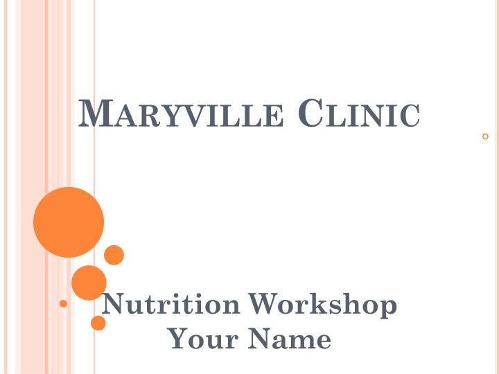 maryville clinic n.