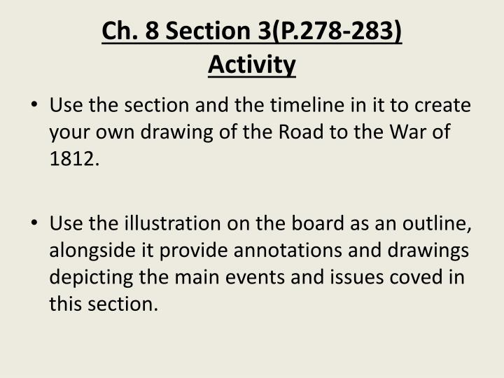 Ch 8 section 3 p 278 283 activity