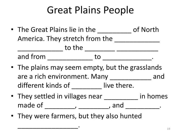 Great Plains People