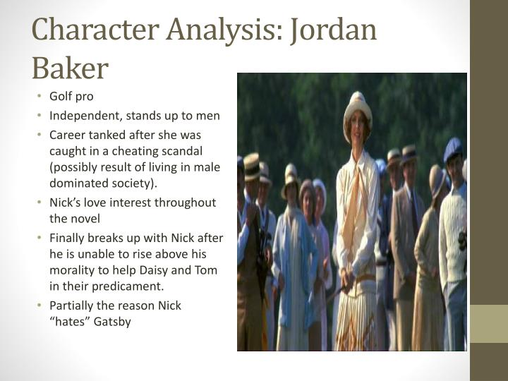 Character Analysis: Jordan Baker