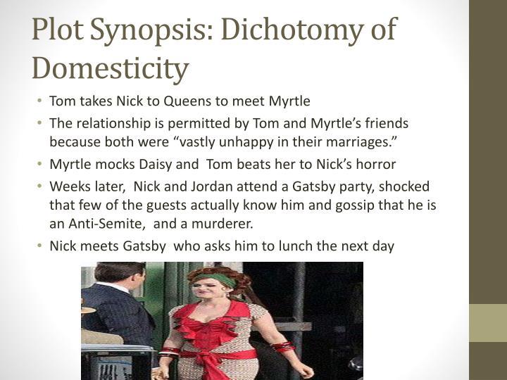 Plot Synopsis: Dichotomy of Domesticity