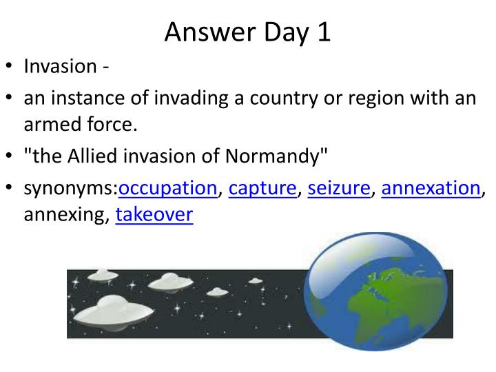 Answer Day 1