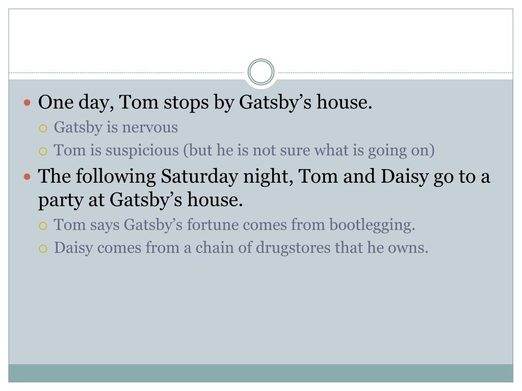 PPT - Great Gatsby Chapter Summaries PowerPoint Presentation