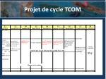 projet de cycle tcom