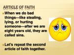 article of faith3