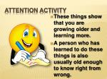 attention activity5