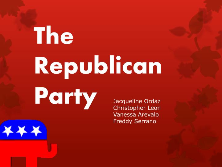 the republican party n.
