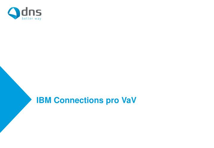 ibm connections pro vav n.