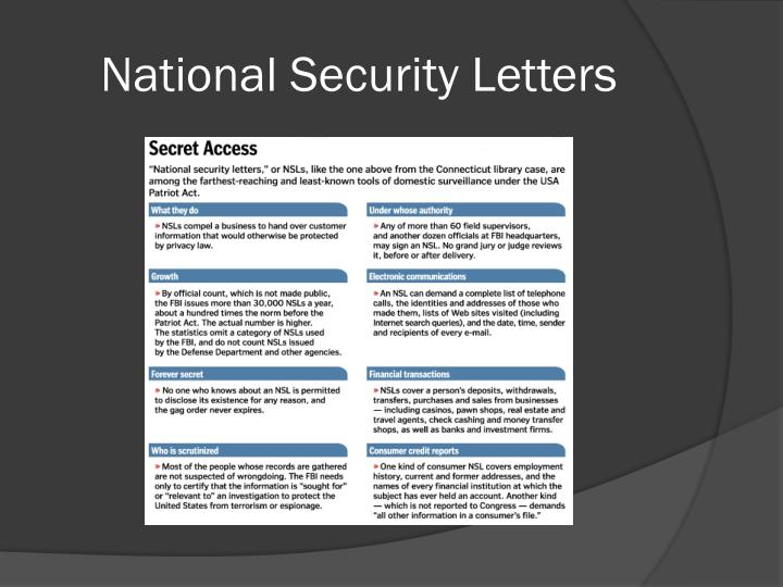 national security letters ppt politics and privacy the misinformation age by meg 23753 | national security letters n