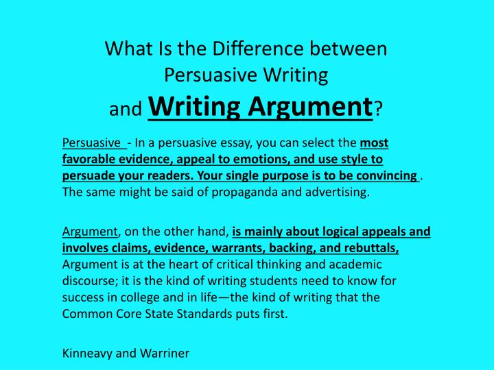 relationship between informative explanatory and persuasion statements and critical thinking Get an answer for 'what is the relationship between informative, explanatory, and persuasive statements' and find homework help for other rhetoric questions at enotes.