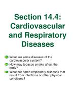 section 14 4 cardiovascular and respiratory diseases