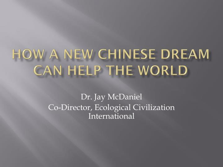 how a new chinese dream can help the world n.